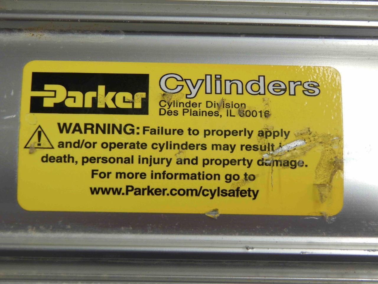 Parker 4MA Aluminum Pneumatic Cylinder 3683128C91L 5-1/2 ...