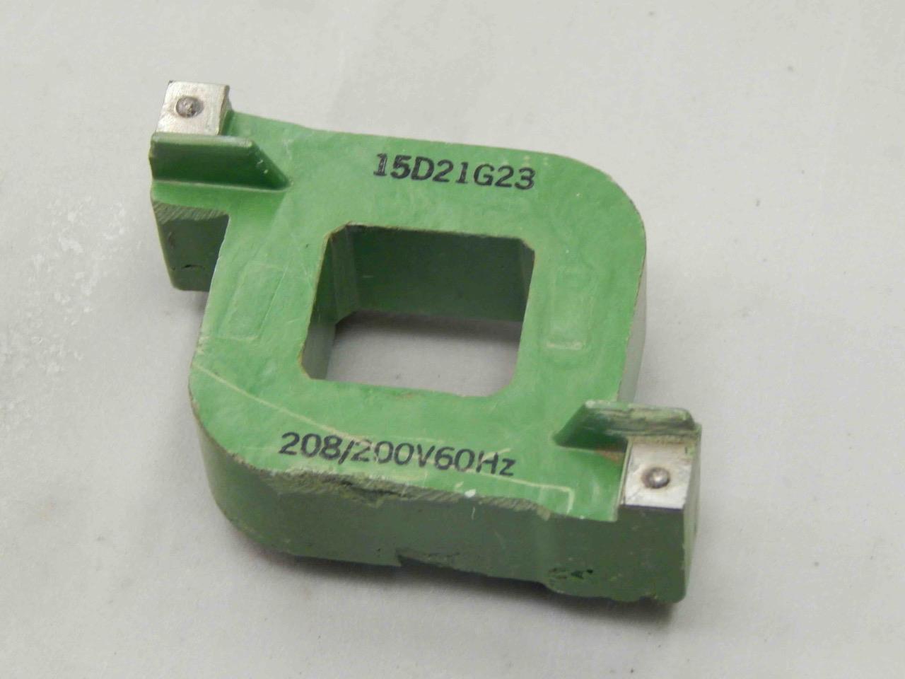 #103 General Electric GE 15D21G23 208/200V Starter Coil ...