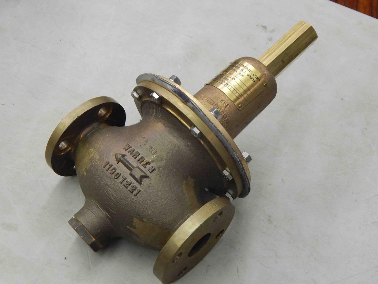 #207 Warren Controls Type 436 Regulating Fluid Pressure Valve 4-½