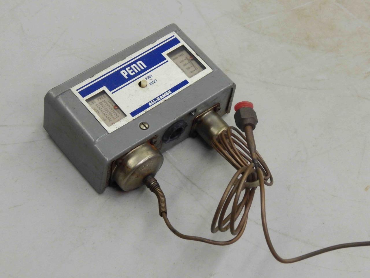 #548 Johnson Controls Penn P70NA-1 Dual Pressure Switch