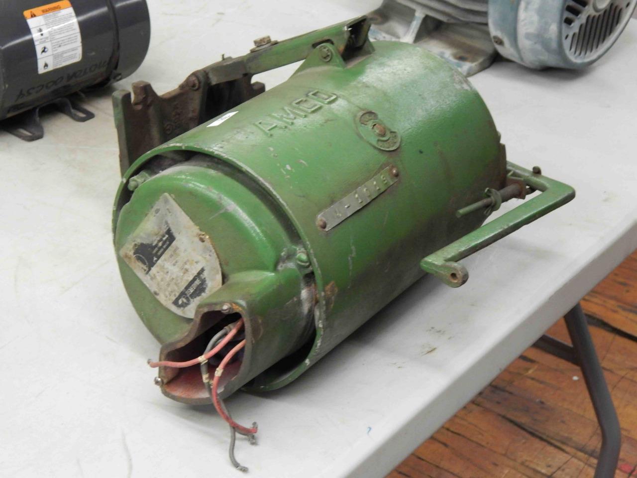 #39 Teledyne AMCO Industrial Sewing Machine Clutch Motor 1 ...