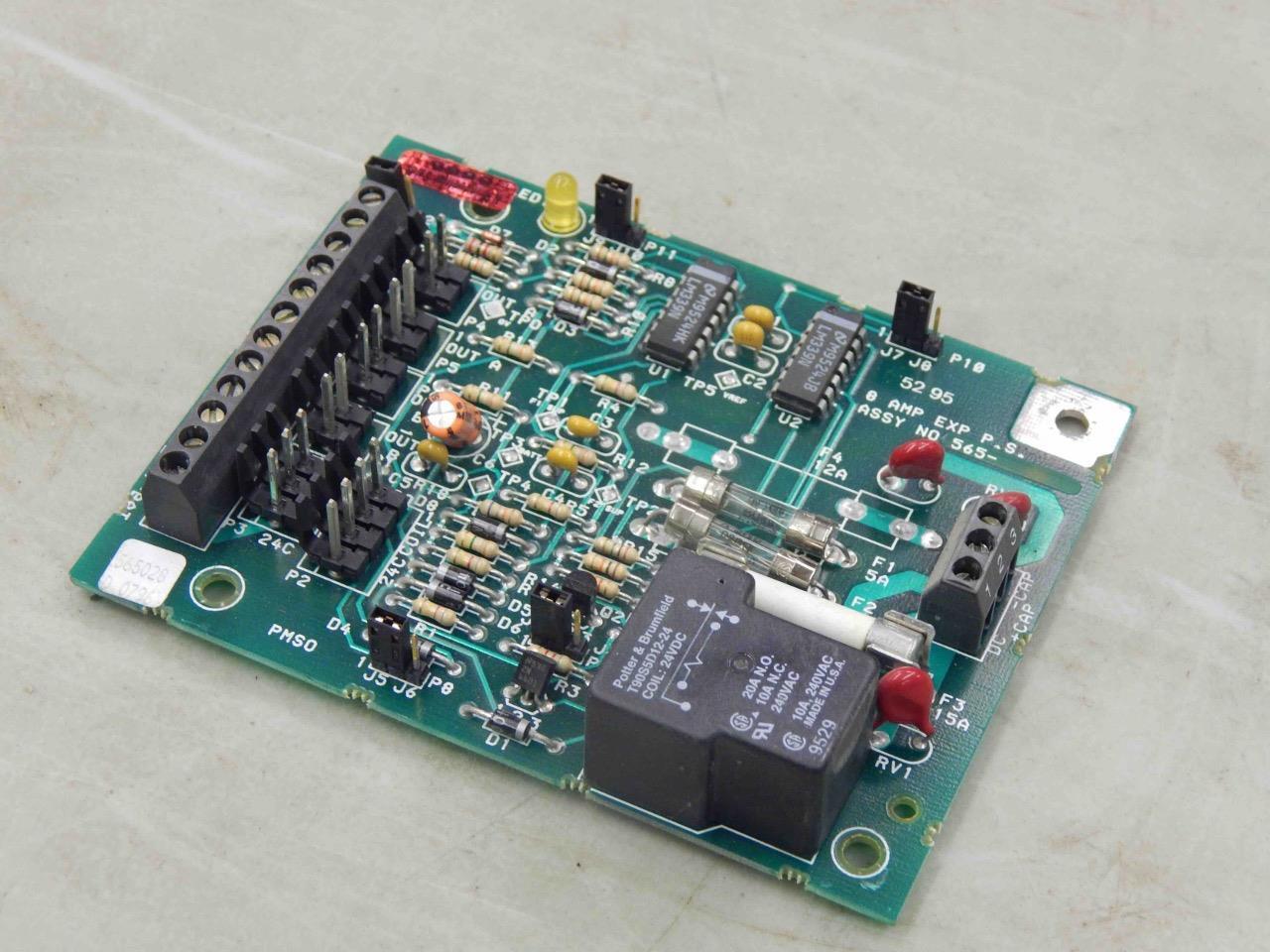 1100 Simplex 565028 D 0796 Power Supply Fire Alarm Circuit Board ...