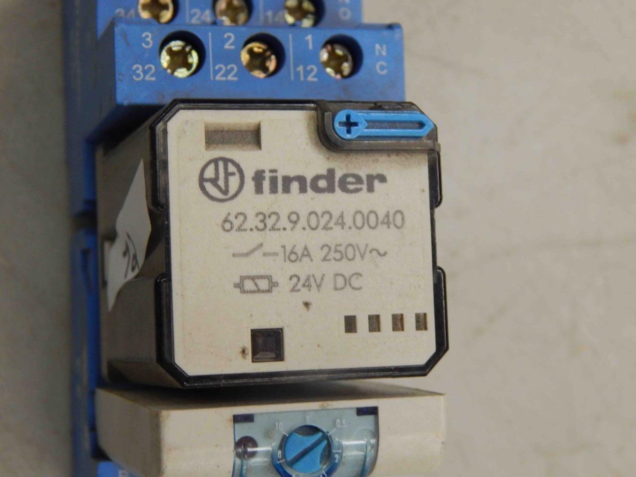72 Finder 623290240040 Power Relay 9203 Base 86000240 Circuit Breaker Timer Ebay