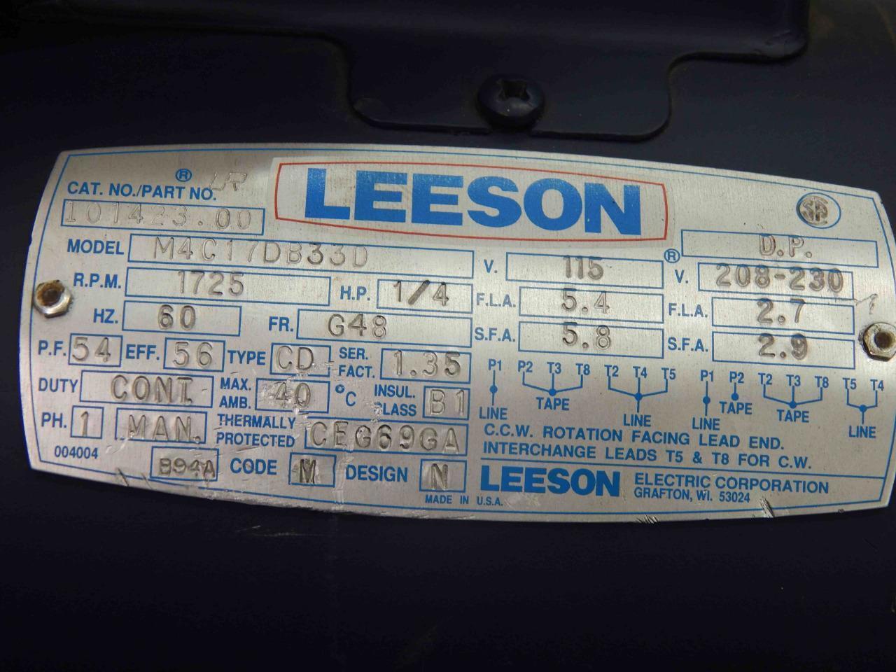 Leeson Motor Wiring Diagrams Ge Diagram Import Motors Impremedia Net 115 230