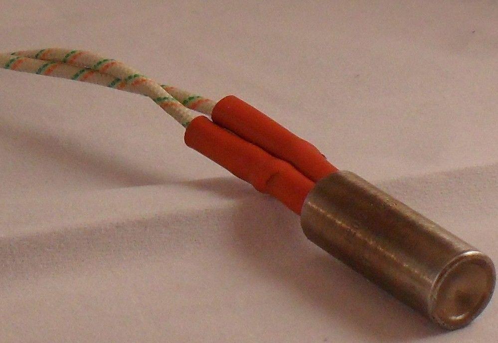 "Watlow Firerod J1E51 Cartridge Heater  120V 125W  1-1//4/"" Length 32mm 1//2/"" Dia"